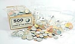 500 Different Coins From 150 Countries85 Uncirculated
