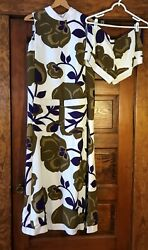 Vintage Marshall Field And Company 1970's Long Dress And Shorts