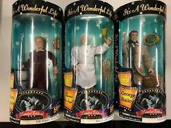 Its A Wonderful Life George Bailey Clarence The Angel Mary Bailey Action Figure