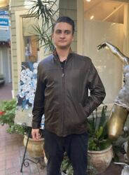 Remy Leather Jacket Mens Size 40 List For 1195