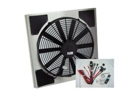 Spal 30101516 Fan And Old Air Shroud 19-1/2hx19-7/8wx3-1/8d Harness And Sensor