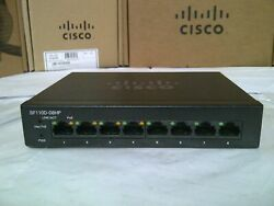 Cisco Sf110d-08hp No Adapter.2 Year Wrnty Real Time.