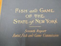 Fish And Wildlife Of The State Of New York 7th Edition Print Set