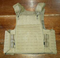 Firstspear Siege R 6/12 Tubes S Coyote Brown Armor Carrier Tactical Vest Plate