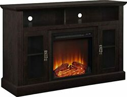 Ameriwood Home Chicago Electric Fireplace Tv Console For Tvs Up To A 50, Espres