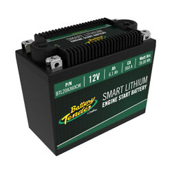 Battery Tender 6.1ah 360ca Lithium Engine Start Battery With Smart Bms
