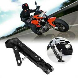 Anti-skidding Tripod Accessories Side Stand Adjustable Motorcycle Kickstand Kv