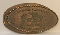 Museum Of The Rockies Bison Pressed Elongated Penny