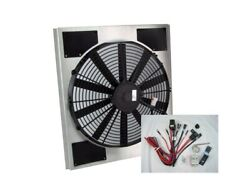 Spal 30101516 Fan And Old Air Shroud 20-1/2hx18-1/2wx3-1/8d Harness And Sensor