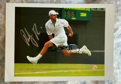 Andy Roddick Signed Autographed 8x12 Photo 316/333 Hologram Authentic Rare