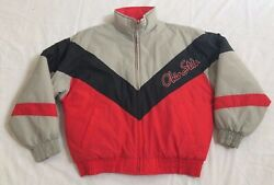 Chalkline 1996 Ohio State Buckeyes Front Spell Out Rear Logo Jacket Men's Large