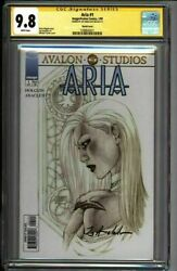 Aria 1 Cgc 9.8 Ss Turner Sketch Variant Signed Anacleto 1999 1580642011