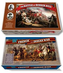 Marx The French And Indian War Play Set Box