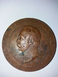 Table Medal Andldquoin Commemoration Of The Opening Of The Monument To Emperor Alexande