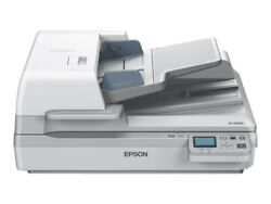 Epson Workforce Ds-60000n 600 X 600 Dpi Flatbed And Adf Scanner White A3 - B11b204