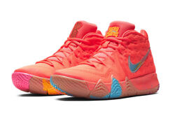 Nike Kyrie 4 Lucky Charms Red Bright Crimson Multicolor Gs Bc7793 600 Size 4-7