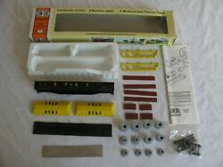 Con-cor Detroit Toledo And Ironton Coil Gondola W/ Flat Covers And Load Kit 009057