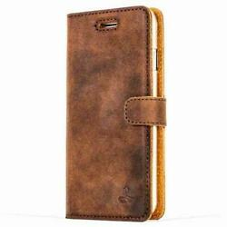 Snakehive Apple Iphone Se 2020 Premium Genuine Leather Wallet Case W/card Slots