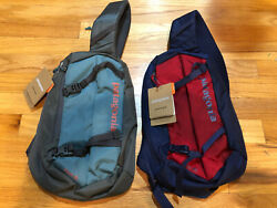 NEW PATAGONIA ATOM SLING 8L BAG PACK MESSENGER BACKPACK 48261 FREE SHIP RED TEAL