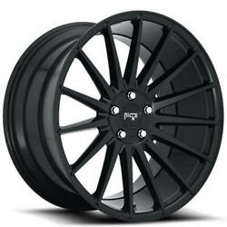 4 20 Staggered Niche Wheels M214 Form Gloss Black Rims With Tpms