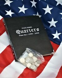 Us State Quarter Collector Starter Kit W/ Album And 30 Unc State Quarters A-953