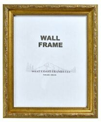 Picture Frame Antique Gold Or Silver With Gold Filagree Finish