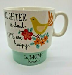 Hallmark Laughter is loud. Kids are happy. In Mom's House Coffee Mug Tea Cup