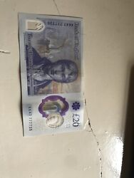 New And Rare Andpound 20 Note Ak47 7777