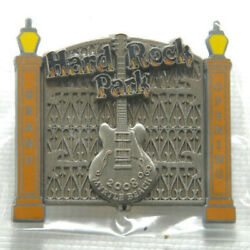 Hard Rock Park Cafe Grand Opening 2008 Myrtle Beach Pin Limited Edition