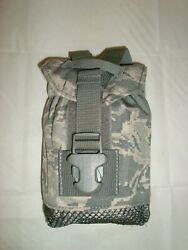 Us Air Force Abu Canteen Multi Use Pouch W/pvs-14 Nvg Insert New Free Shipping