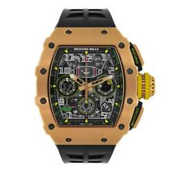 Richard Mille RM11-03 Rose Gold Flyback Chronograph 49MM Watch RM11-03