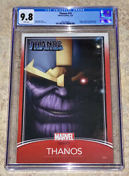 Thanos 13 Cgc 9.8 Trading Card Variant 1st Appearance Of Cosmic Ghost Rider