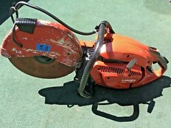 Hilti Dsh 700-x Gas Saw ,for Parts Only, L@@ks Clean , Needs Repair, Fast Ship