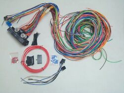 1964-67 Chevelle A Body 12v 24 Circuit 15 Fuse Wiring Harness Wire Kit Upgrade