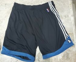 Hard To Find Adidas Minnesota Timberwolves Authentic Basketball Shorts Mens 4xlt