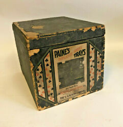 Antique 1899 U.s. Playing Cards In Their Original Box
