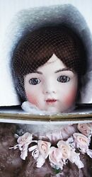 Antique Reproduction Bru Jne 15 Porcelain New 34 In Doll Patricia Loveless Nrfb