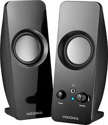 Insignia Speakers Black $19.99