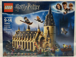 LEGO Harry Potter  Hogwarts Great Hall Toys Castle Playset Gift for Teens 878 Pc