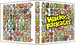 Wacky Packages Custom 3-ring Binder Album For Trading Card Stickers
