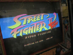 Street Fighter 2 Special Turbo Hack Pcb Board For Arcade Video Game Original
