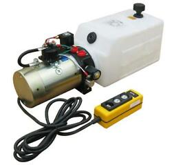 Power Unit Double Acting Solenoid Operated 8 Qt Poly Tank Db-1446-a
