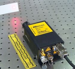 New Melles Griot 56ics/s2669 Red Laser Diode System 640nm 12mw Nikon Confocal