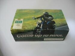 50 Packs Kool Cigarette Matches With Box Man On Motorcycle Matchbook