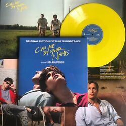 New Call Me By Your Name Soundtrack 2x Lp Vinyl Limited Edition Yellow Color