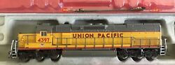 N Scale Intermountain Sd40t-2 Tunnel Motor Dcc Equipped Union Pacific Up Engine