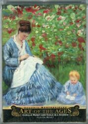 2015 Ud Goodwin Art Of Ages Claude Monet Camille Monet And Child In A Garden