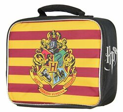 Harry Potter Hogwarts Crest Insulated Lunch Box Kids Lunchbox Tote $17.88