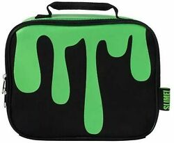 Nickelodeon Black amp; Green Slime Insulated Lunch Box Kids Lunchbox $16.88
