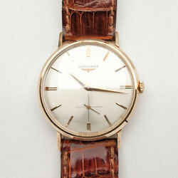 Longines Vintage Watch 18ct Rose Gold Reference 6982 - Cal. 23z - Year 1963